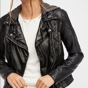 Free People Vegan Moto Jacket!